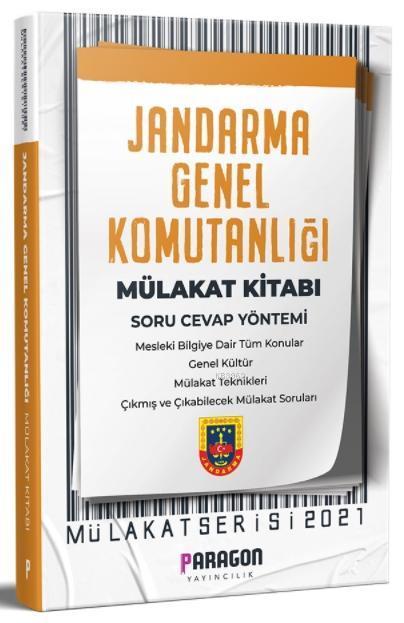 2021 Paragon Yayıncılık -  Jandarma Genel Komutanlığı Mülakat Kitabı