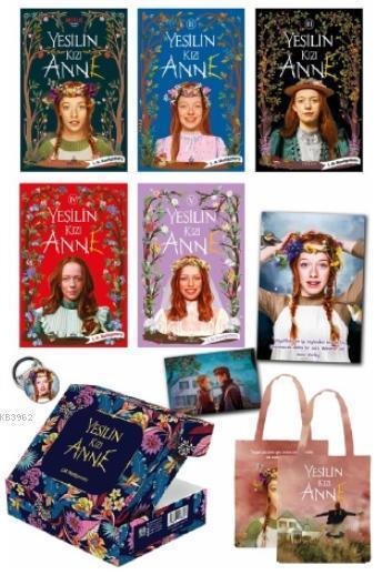 Yeşilin Kızı Anne 5 Kitap Kutulu Set