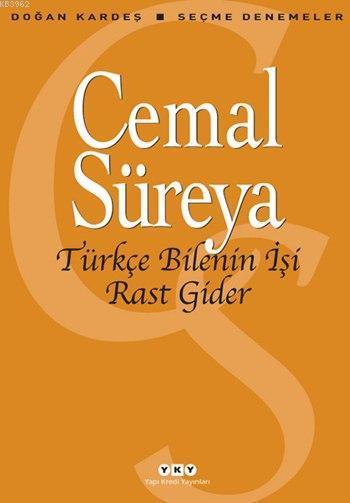 Türkçe Bilenin İşi Rast Gider; Seçme Denemeler