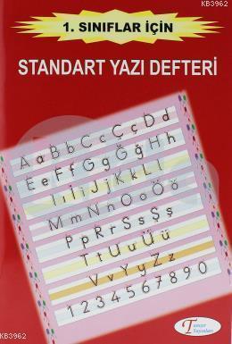 Standart Yazı Defteri 1. Sınıflar İçin