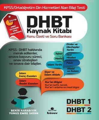 DHBT Sınavı Kaynak Kitabı