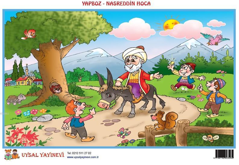 Yapboz 9 - Nasreddin Hoca