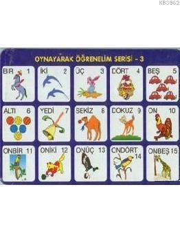 Sayılar (4-6 Yaş); Oynayarak Öğrenelim Serisi 3