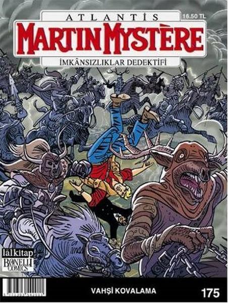 Martin Mystere Sayı: 175; Vahşi Kovalama