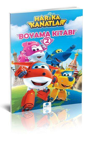 Harika Kanatlar Boyama Kitabi 2 Kolektif 8681234091839 Kitap