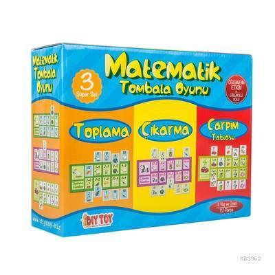 Dıytoy 9239 Matematik Tombala