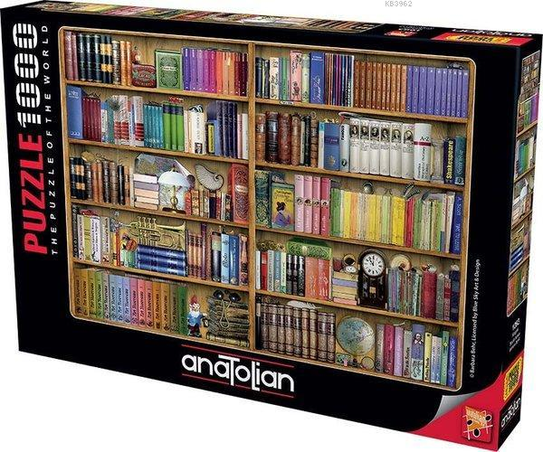 Anatolian-Puzzle 1000 Kitaplık Bookshelves
