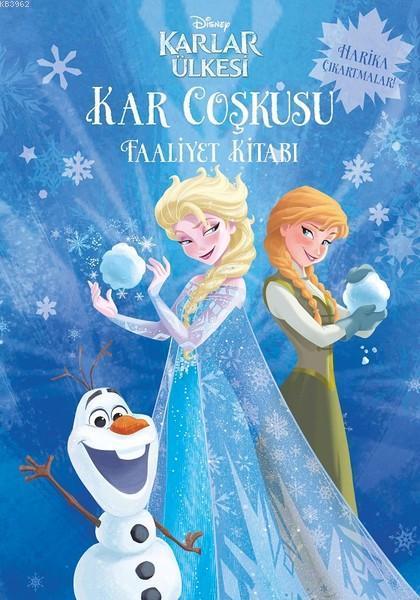 Disney Karlar Ülkesi - Kar Coşkusu Faaliyet Kitabı; Harika Çıkartmalar