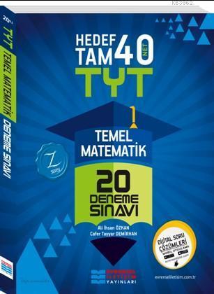TYT Temel Matematik Video Çözümlü 20'lli Deneme Sınavı; (1. Oturum)