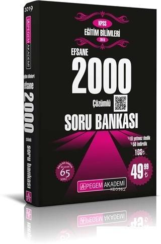 Efsane 2000 Çözümlü Soru Bankası