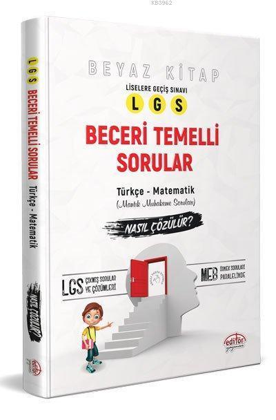 Editör LGS Beceri Temelli Sorular-Türkçe-Matematik