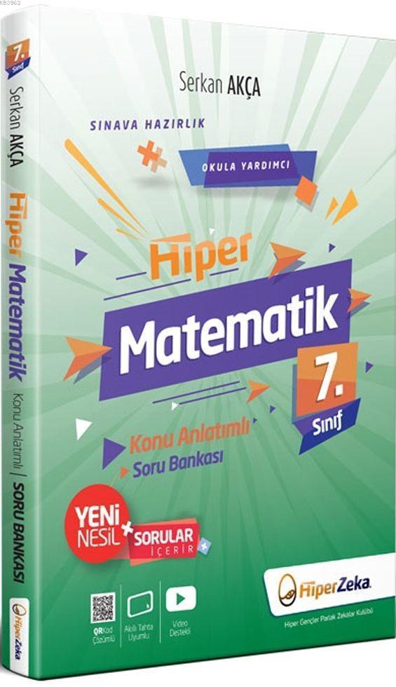 Hiper Zeka 7. Sınıf Hiper Matematik Konu Anlatımlı Soru Bankası