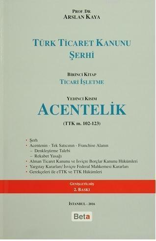 Türk Ticaret Kanunu Şerhi