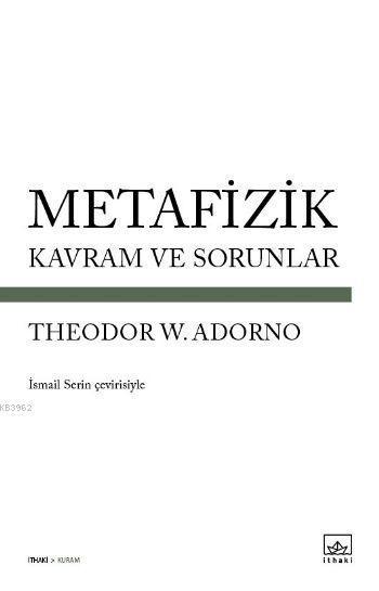 Metafizik - Kavram ve Sorunlar