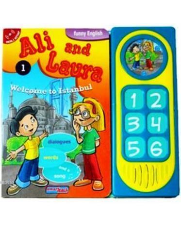 Ali and Laura 1 - Welcome to İstanbul; Konuşan Sesli Kitaplar