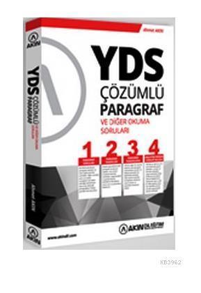 YDS Çözümlü Paragraf Soruları ve Diğer Okuma Soruları