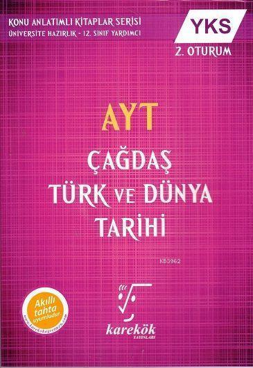 2019 AYT Çağdaş Türk ve Dünya Tarihi YKS 2. Oturum; Akıllı Tahta Uyumludur