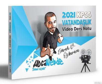 HocaWebde Yayınları 2021 KPSS Vatandaşlık Video Ders Notu