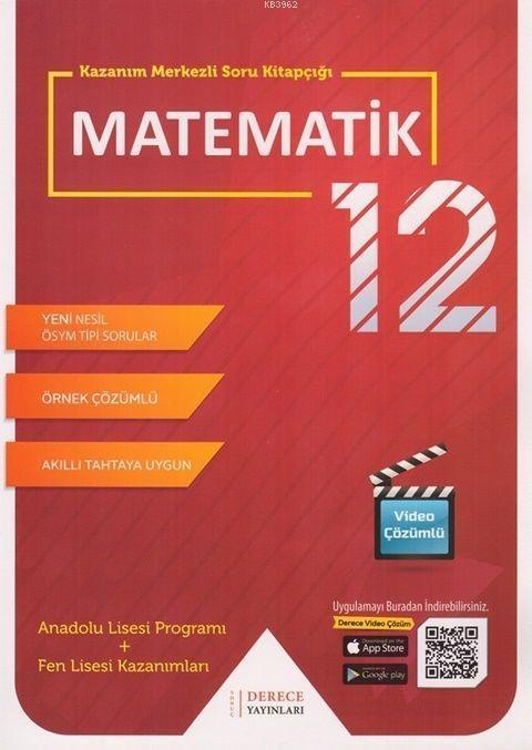 Sonuç Derece Yayınları 12. Sınıf Matematik Modüler Set Sonuç Derece