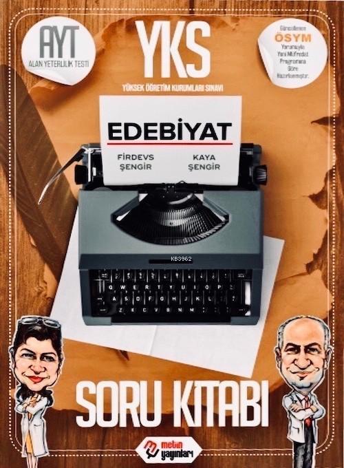 Metin Yayınları AYT Edebiyat Soru Kitabı Metin