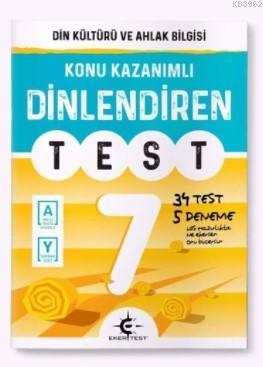 Arı Yayıncılık 7.Sınıf Dinlendiren Test