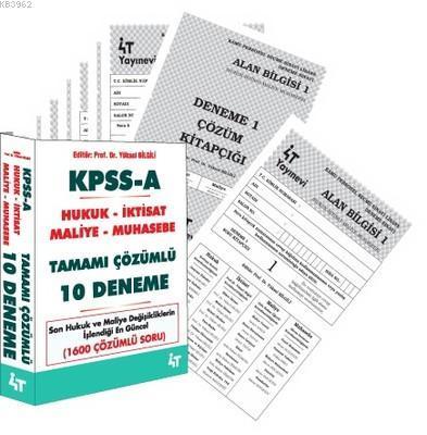 KPSS A Tamamı Çözümlü 10 Deneme