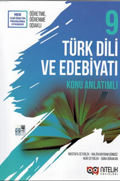 Nitelik Yayınları 9.Sınıf Türk Dili Ve Edebiyatı Konu Anlatımlı