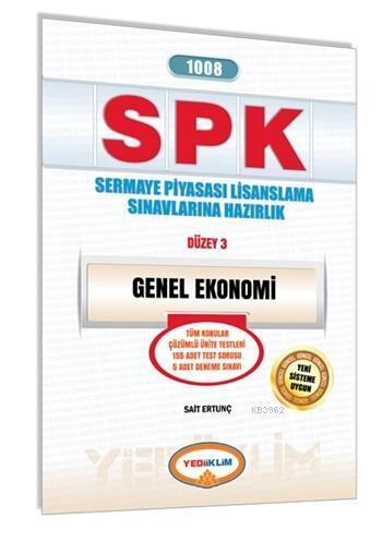 SPK 1008 Genel Ekonomi