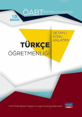 ÖABT Türkçe Öğretmenliği - Öğretmenlik Alan Bilgisi - Detaylı Konu Anlatımı