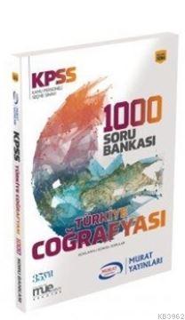 2018 KPSS Türkiye Coğrafyası 1000 Soru Bankası