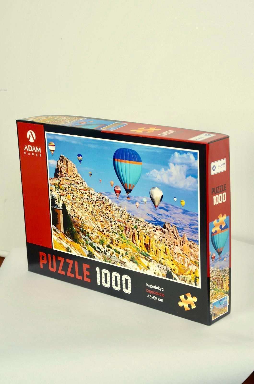 Adam Games Kapadokya 1000 Parça Puzzle 48x68
