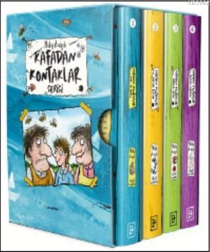 Kafadan Kontaklar Serisi - Kutulu Set 4 Kitap