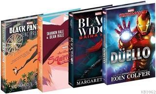 Marvel - Romanlar Seti 4 Kitap