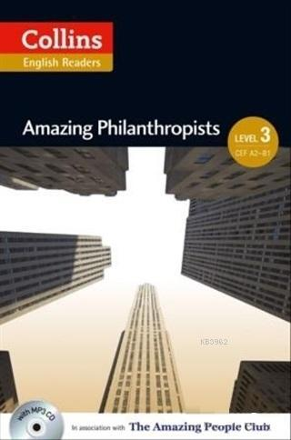 Amazing Philanthropists +CD (A.People Readers 3) B1