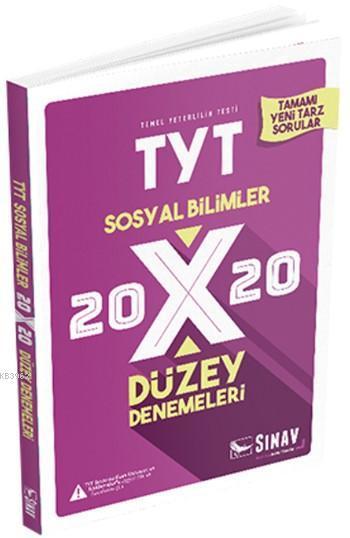 Sınav Dergisi Yayınları TYT Sosyal Bilimler 20x20 Düzey Denemeleri Sınav Dergisi