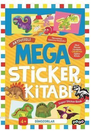 Aktiviteli Mega Sticker Kitabı - Dinozorlar