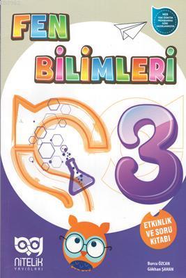 Nitelik Yayınları 3. Sınıf Türkçe Matematik Hayat Bilgisi Fen Bilimleri Soru Kitabı Seti Nitelik