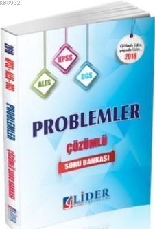 2018 KPSS-ALES-DGS Problemler Çözümlü Soru Bankası