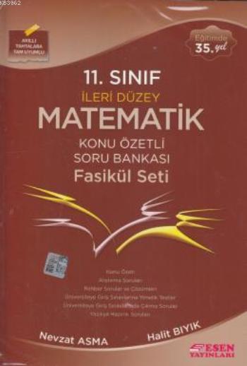 11. Sınıf İleri Düzey Matematik Konu Özetli Soru Bankası Fasikül Seti