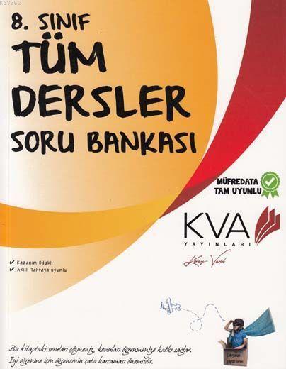 KVA Yayınları 8. Sınıf Tüm Dersler Soru Bankası