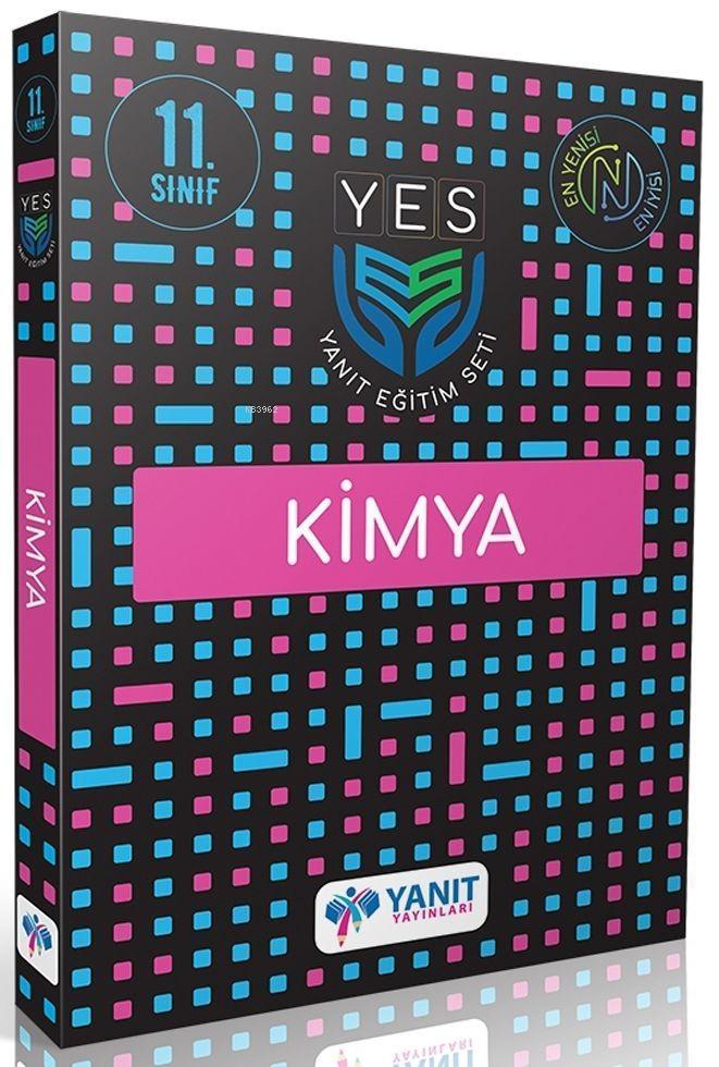 Yanıt Yayınları 11. Sınıf Kimya Yes Serisi Yanıt