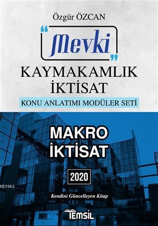 Mevki Makro İktisat (Kaymakamlık İktisat) 2020; Konu Anlatımı Modüler Seti