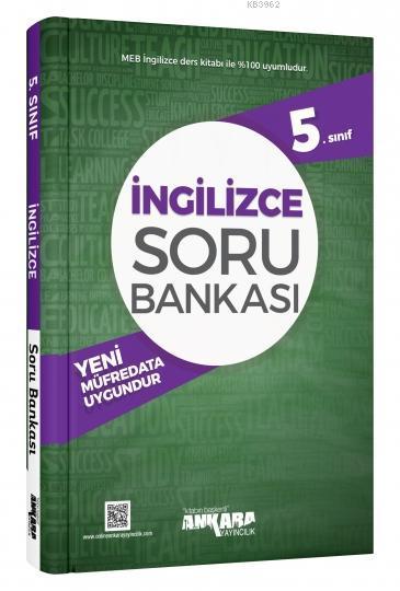 Ankara Yayınları 5. Sınıf İngilizce Soru Bankası Ankara