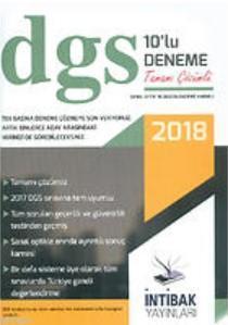 2018 DGS Tamamı Çözümlü 10'lu Deneme