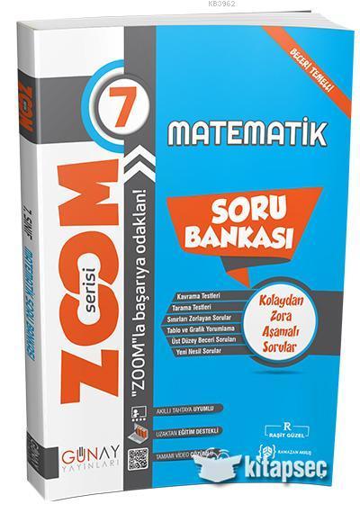 Günay 7.Sınıf Zoom Serisi Matematik Soru Bankası