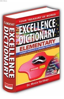 Excellence Elementary Dictionary (English - Turkish ) (Ciltli)