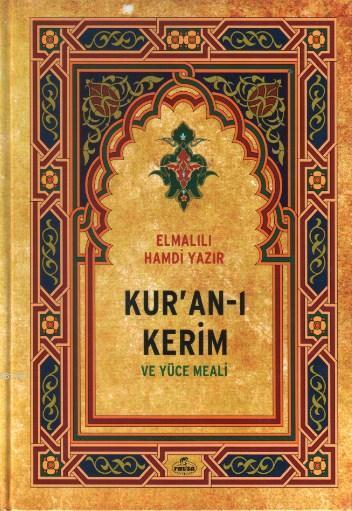 Kur'an-ı Kerim ve Yüce Meali (orta Boy)