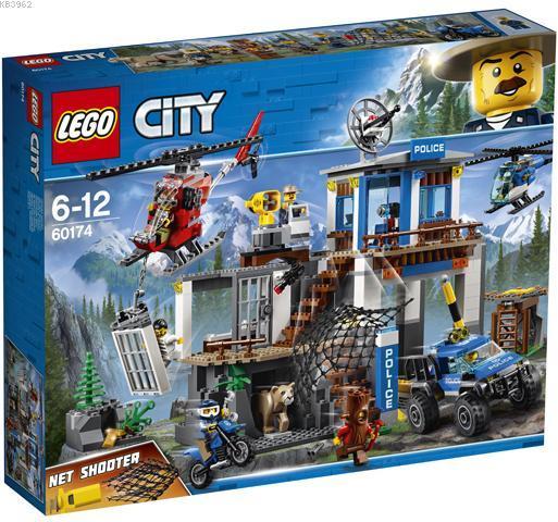 Lego City 60174 Dağ Polis Merkezi
