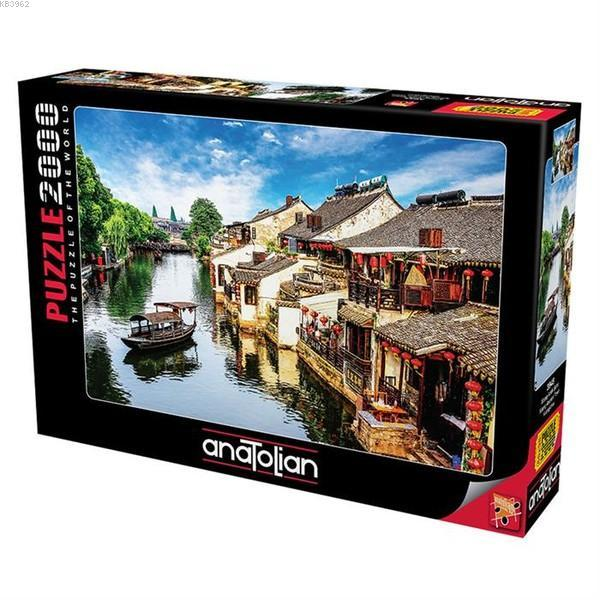 Anatolian Puzzle 2000 Parça Xitang Antik Şehri 3945