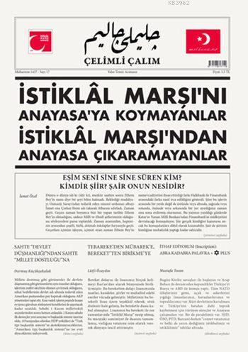 Çelimli Çalım; Türk Milliyetçilerinin Mecmuası Yıl: 2 Sayı: 17